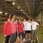 My hurdle training group in Spain (2006).